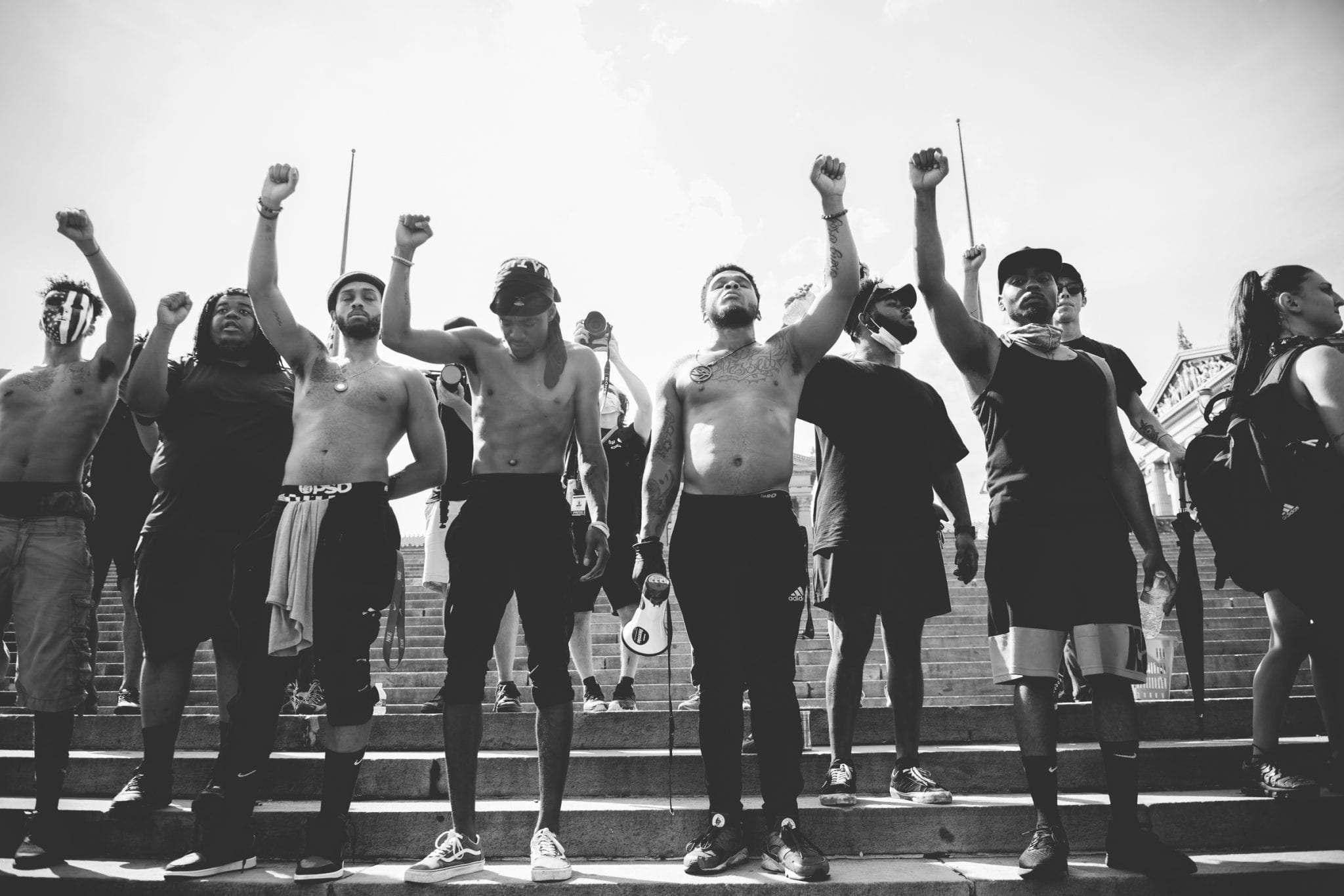 Black Lives Matter protest Philadelphia June 3rd 2020