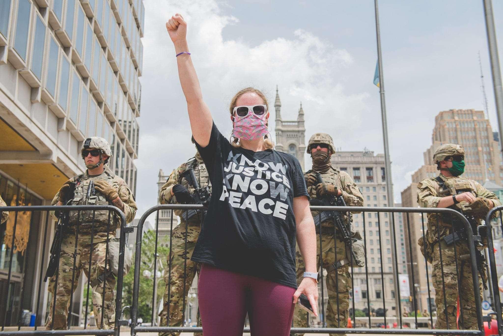 Philadelphia Black Lives Matter protest photography