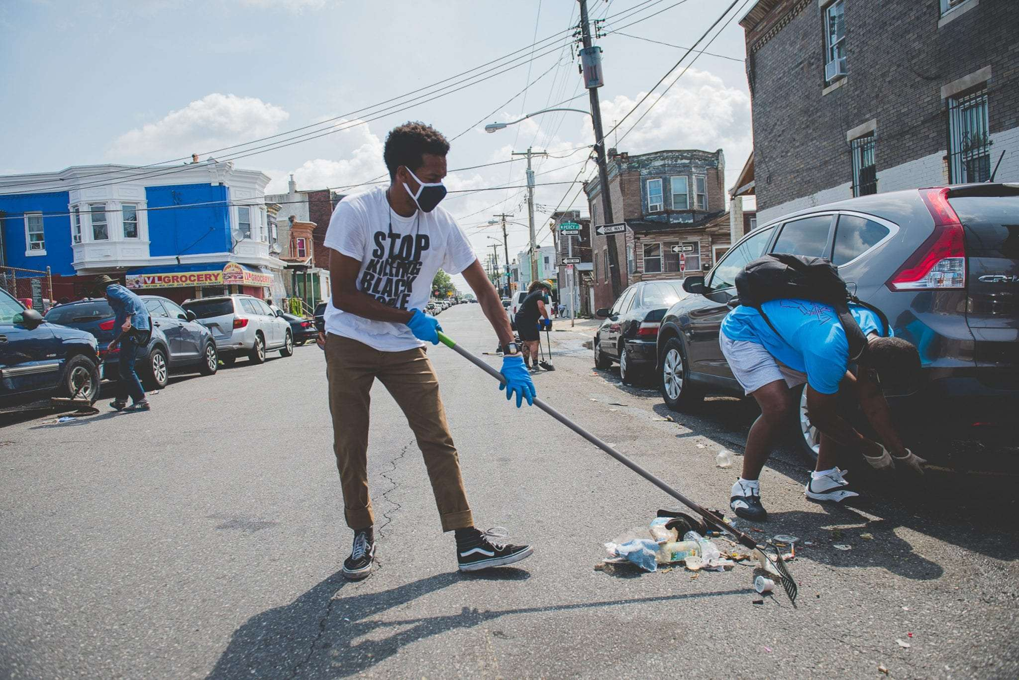 Clean up Philadelphia The Big Cleanup Rec Philly