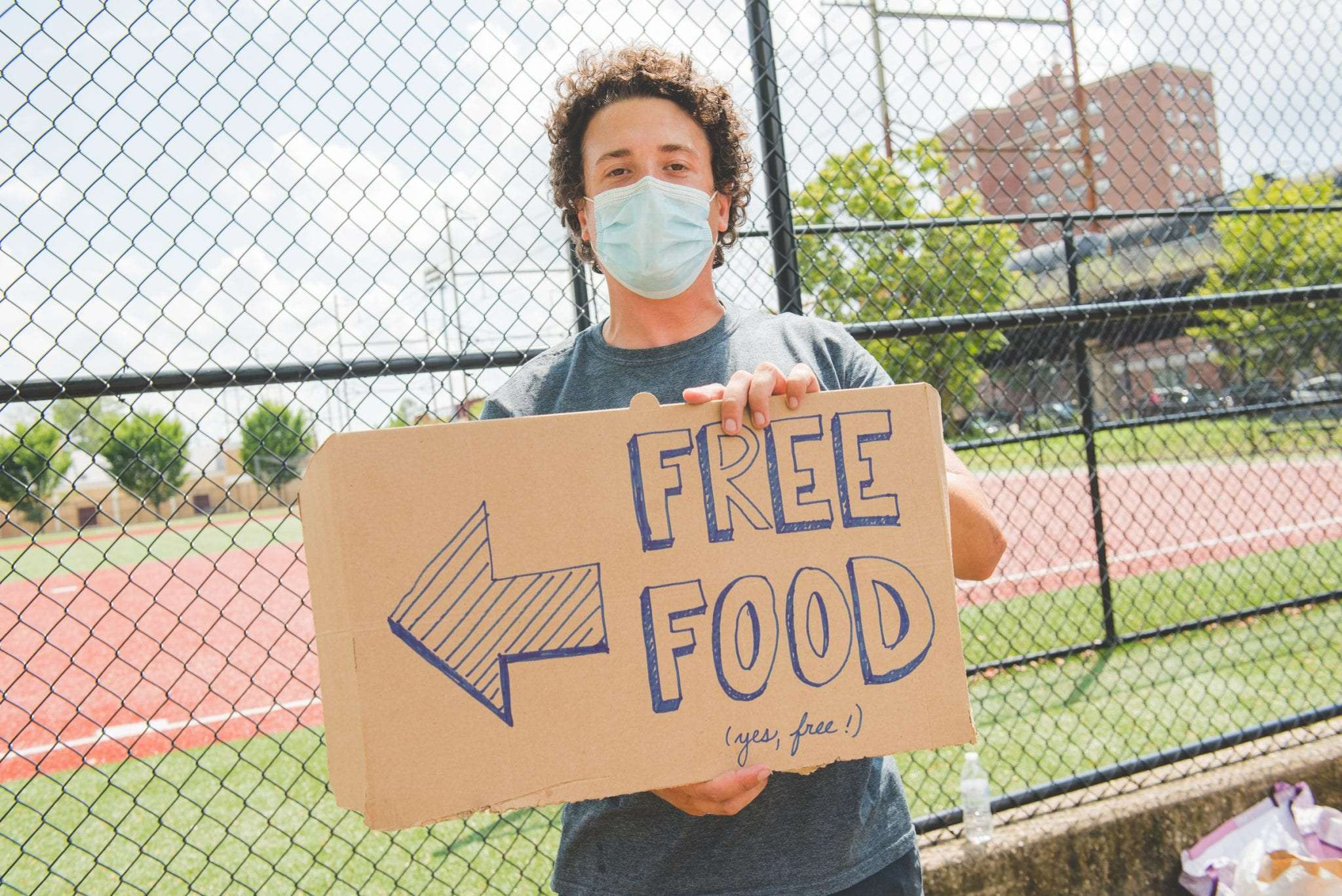 Free food for everyone in philadelphia pop up event