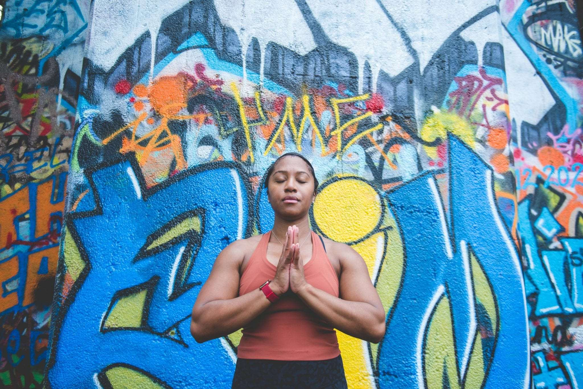 yoga branding session Philadelphia photographer Latasha Marie self help